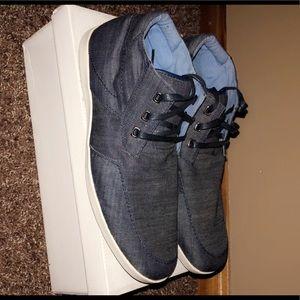 Steve Madden Denim Casual Dress Shoes Size 11.5